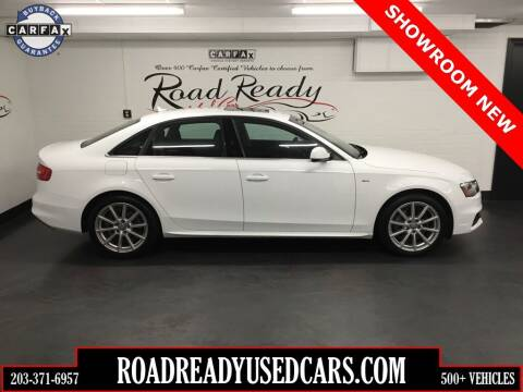 2016 Audi A4 for sale at Road Ready Used Cars in Ansonia CT