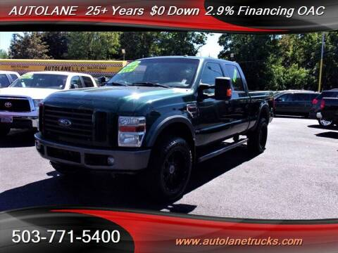 2009 Ford F-350 Super Duty for sale at Auto Lane in Portland OR