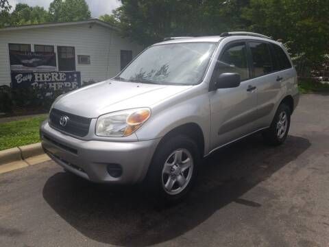2005 Toyota RAV4 for sale at TR MOTORS in Gastonia NC