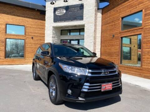 2018 Toyota Highlander for sale at Hamilton Motors in Lehi UT