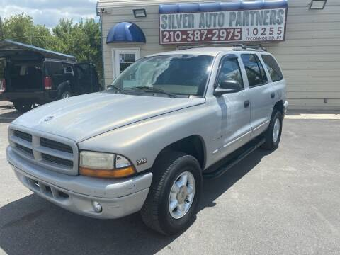 2000 Dodge Durango for sale at Silver Auto Partners in San Antonio TX