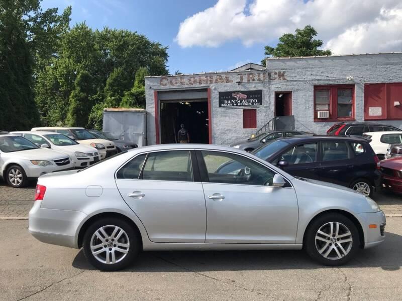 2006 Volkswagen Jetta for sale at Dan's Auto Sales and Repair LLC in East Hartford CT