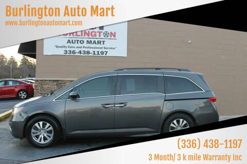 2014 Honda Odyssey for sale at Burlington Auto Mart in Burlington NC