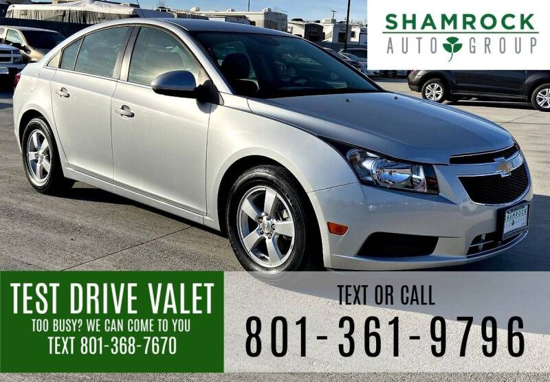 2014 Chevrolet Cruze for sale at Shamrock Group LLC #1 in Pleasant Grove UT