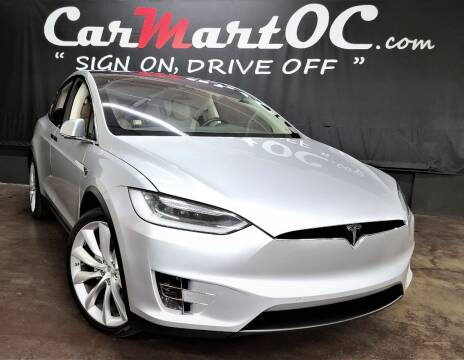 2016 Tesla Model X for sale at CarMart OC in Costa Mesa, Orange County CA