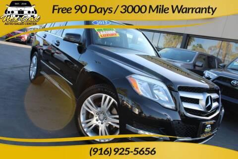 2013 Mercedes-Benz GLK for sale at West Coast Auto Sales Center in Sacramento CA