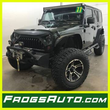 2011 Jeep Wrangler Unlimited for sale at Frogs Auto Sales in Clinton IA