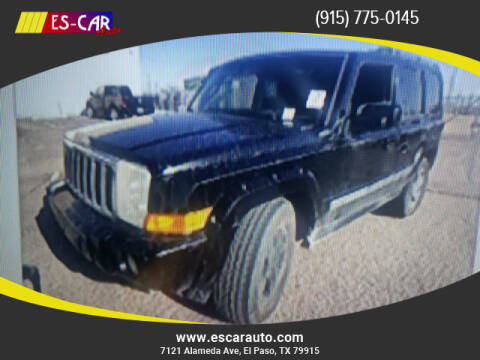 2006 Jeep Commander for sale at Escar Auto in El Paso TX