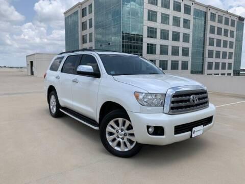 2012 Toyota Sequoia for sale at SIGNATURE Sales & Consignment in Austin TX