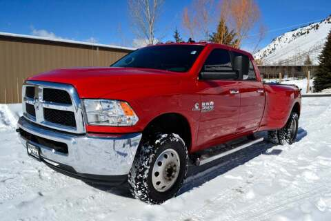 2018 RAM Ram Pickup 3500 for sale at Jackson Hole Ford of Alpine in Alpine WY