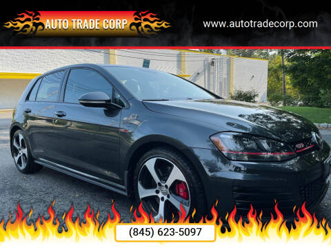 2016 Volkswagen Golf GTI for sale at AUTO TRADE CORP in Nanuet NY