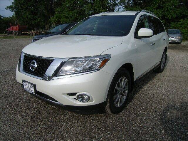 2016 Nissan Pathfinder for sale at HALL OF FAME MOTORS in Rittman OH
