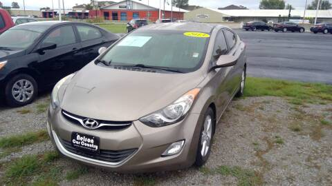 2013 Hyundai Elantra for sale at Nelson Car Country in Bixby OK