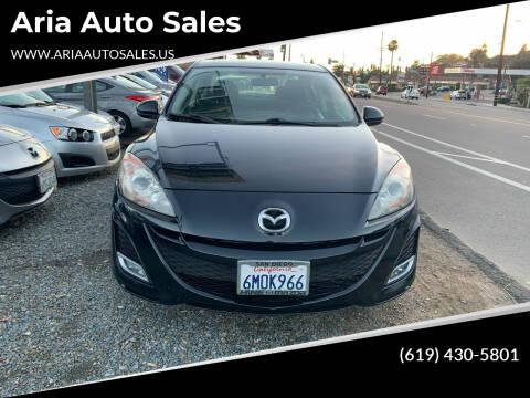 2010 Mazda MAZDA3 for sale at Aria Auto Sales in El Cajon CA
