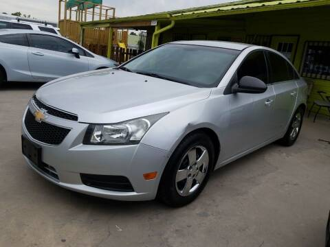 2012 Chevrolet Cruze for sale at RODRIGUEZ MOTORS CO. in Houston TX