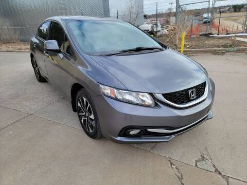 2013 Honda Civic for sale at Red Rock's Autos in Denver CO