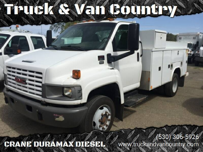 2007 GMC C5500 for sale at Truck & Van Country in Shingle Springs CA