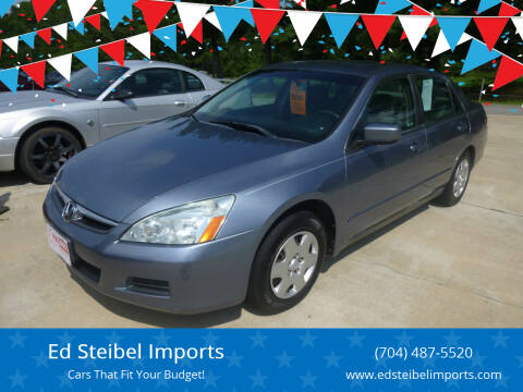 2007 Honda Accord for sale at Ed Steibel Imports in Shelby NC