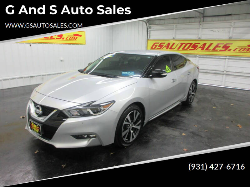 2017 Nissan Maxima for sale at G and S Auto Sales in Ardmore TN
