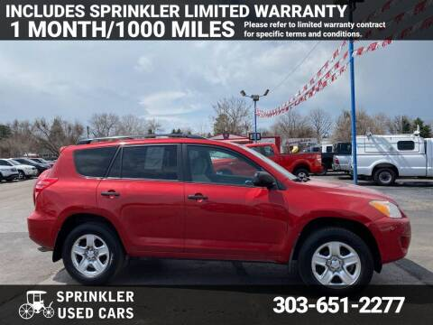 2010 Toyota RAV4 for sale at Sprinkler Used Cars in Longmont CO