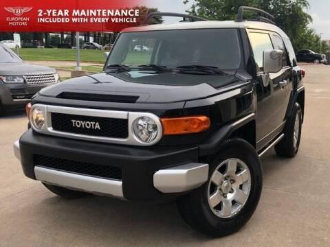 2008 Toyota FJ Cruiser for sale at European Motors Inc in Plano TX