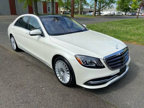 2018 Mercedes-Benz S-Class for sale at International Motor Group LLC in Hasbrouck Heights NJ