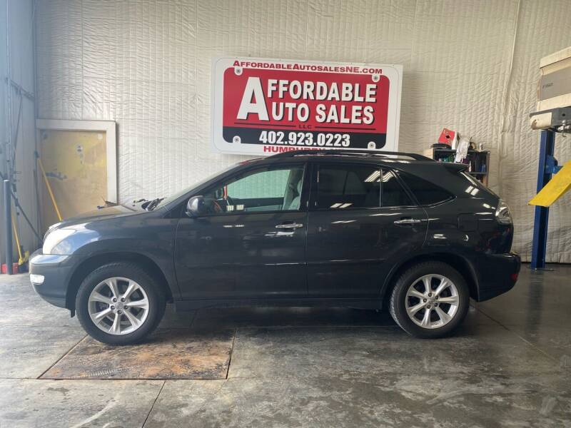 2009 Lexus RX 350 for sale at Affordable Auto Sales in Humphrey NE