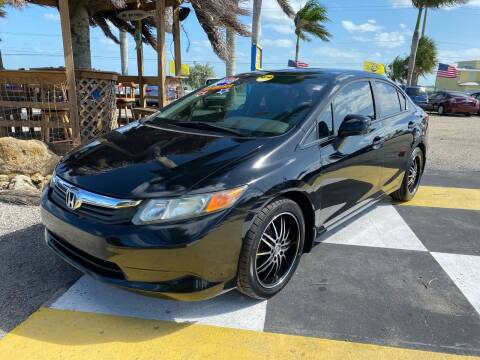 2012 Honda Civic for sale at D&S Auto Sales, Inc in Melbourne FL