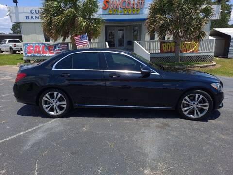 2015 Mercedes-Benz C-Class for sale at Sun Coast City Auto Sales in Mobile AL