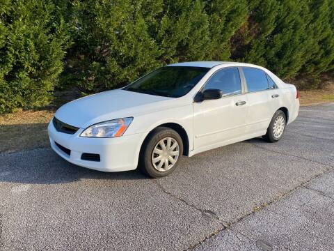 2007 Honda Accord for sale at Front Porch Motors Inc. in Conyers GA