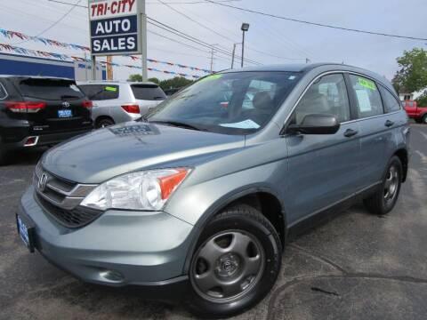 2010 Honda CR-V for sale at TRI CITY AUTO SALES LLC in Menasha WI