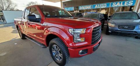 2017 Ford F-150 for sale at Divine Auto Sales LLC in Omaha NE