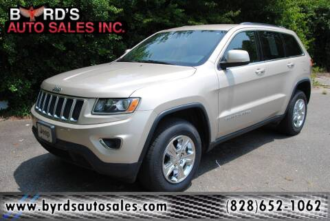 2014 Jeep Grand Cherokee for sale at Byrds Auto Sales in Marion NC