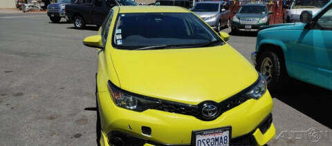 2017 Toyota Corolla iM for sale at Guy Strohmeiers Auto Center in Lakeport CA