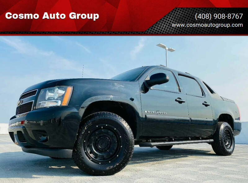 2008 Chevrolet Avalanche for sale at Cosmo Auto Group in San Jose CA
