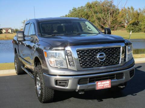2017 Nissan Titan XD for sale at Oklahoma Trucks Direct in Norman OK