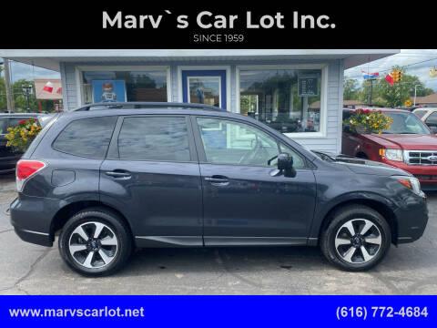 2018 Subaru Forester for sale at Marv`s Car Lot Inc. in Zeeland MI