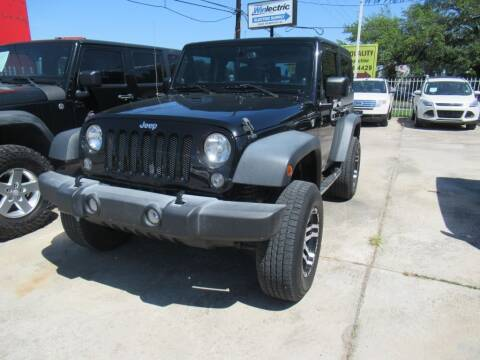 2014 Jeep Wrangler for sale at Lone Star Auto Center in Spring TX