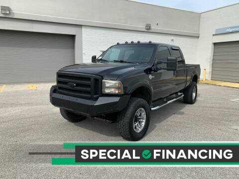 2004 Ford F-250 Super Duty for sale at Mid City Motors Auto Sales - Mid City South in Fort Myers FL