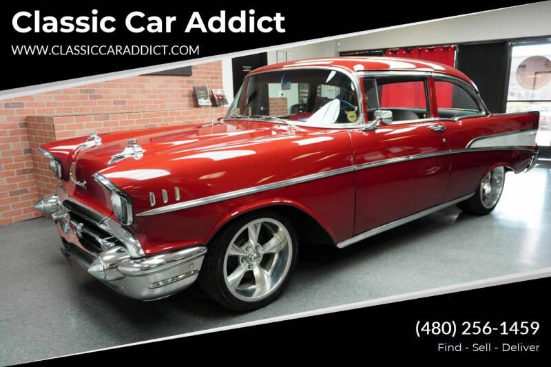 1957 Chevrolet Bel Air for sale at Classic Car Addict in Mesa AZ