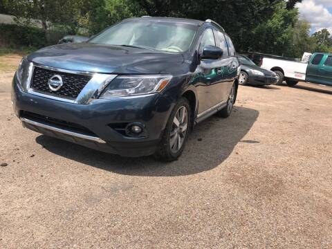 2015 Nissan Pathfinder for sale at Texas Luxury Auto in Houston TX
