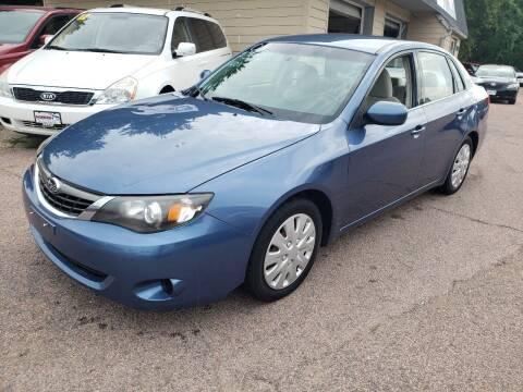 2009 Subaru Impreza for sale at Gordon Auto Sales LLC in Sioux City IA