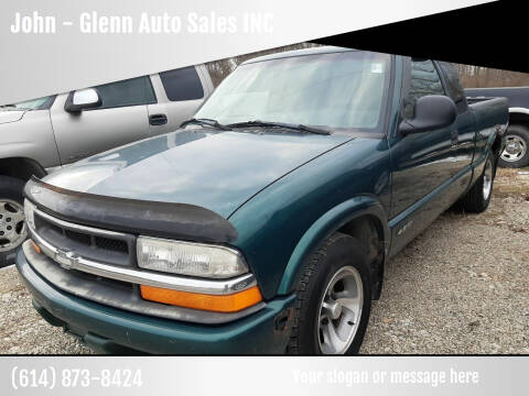 1998 Chevrolet S-10 for sale at John - Glenn Auto Sales INC in Plain City OH