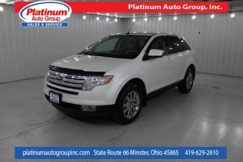 2010 Ford Edge for sale at Platinum Auto Group Inc. in Minster OH