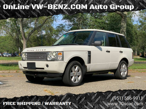 2004 Land Rover Range Rover for sale at Online AutoGroup FREE SHIPPING in Riverside CA