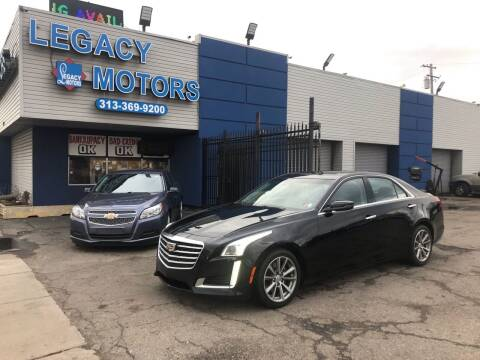 2017 Cadillac CTS for sale at Legacy Motors in Detroit MI