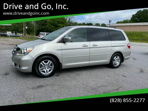 2006 Honda Odyssey for sale at Drive and Go, Inc. in Hickory NC