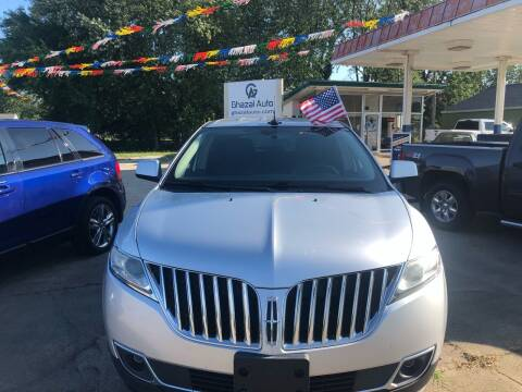 2011 Lincoln MKX for sale at Ghazal Auto in Sturgis MI