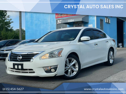 2013 Nissan Altima for sale at Crystal Auto Sales Inc in Nashville TN