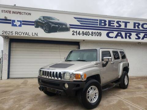 2006 HUMMER H3 for sale at Best Royal Car Sales in Dallas TX